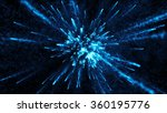 Abstract Particle Background...