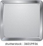 vector background with framed... | Shutterstock .eps vector #36019936