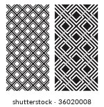 Two Black And White Vector...