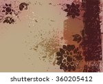 the abstract traced background  ... | Shutterstock . vector #360205412