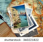 beautiful vacation photograph... | Shutterstock . vector #360221822