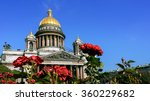 Saint Isaac Cathedral With...