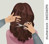 hairdresser | Shutterstock .eps vector #360236096