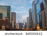 chicago old city | Shutterstock . vector #360242612