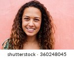 close up portrait of a... | Shutterstock . vector #360248045