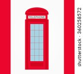 red  britain  london  old...   Shutterstock .eps vector #360258572