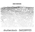 cityscape vector sketch.... | Shutterstock .eps vector #360289955