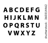 english alphabet for your... | Shutterstock .eps vector #360314462