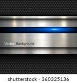 background  polished metal... | Shutterstock .eps vector #360325136