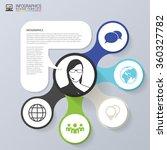 infographics concept. sale... | Shutterstock .eps vector #360327782