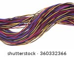 network cables and wires ... | Shutterstock . vector #360332366