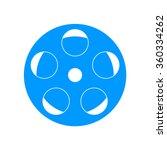 film icon. flat design style... | Shutterstock .eps vector #360334262