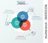 modern infographics options... | Shutterstock .eps vector #360352106