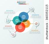 modern infographics options...   Shutterstock .eps vector #360352115