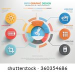 photography info graphic... | Shutterstock .eps vector #360354686