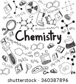 chemistry science theory and... | Shutterstock .eps vector #360387896