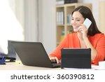entrepreneur working on line... | Shutterstock . vector #360390812