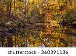 arkansas fall landscape  petit... | Shutterstock . vector #360391136