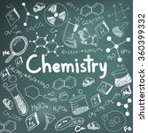 chemistry science theory and... | Shutterstock .eps vector #360399332