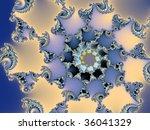 High Resolution Helix Ornament