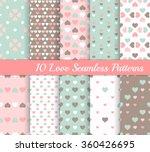 ten love different seamless... | Shutterstock .eps vector #360426695