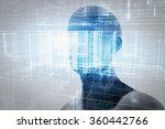 virtual reality projection.... | Shutterstock . vector #360442766