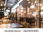 Blured Cafe Restaurant On...