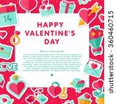 vector illustration. happy... | Shutterstock .eps vector #360460715
