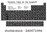 periodic table of the elements... | Shutterstock .eps vector #360471446