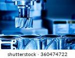 metalworking cnc milling... | Shutterstock . vector #360474722