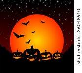 vector illustration on a...   Shutterstock .eps vector #36048610