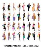 spending is fun isolated... | Shutterstock . vector #360486602