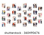 achievement idea many... | Shutterstock . vector #360490676