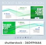 business brochure  flyer and... | Shutterstock .eps vector #360494666