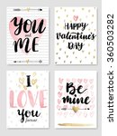 valentine s day calligraphic... | Shutterstock .eps vector #360503282