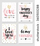 valentine s day calligraphic...   Shutterstock .eps vector #360503288