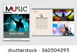 magazine layout. vector  | Shutterstock .eps vector #360504395