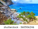 a view of cala goloritze beach  ...   Shutterstock . vector #360506246