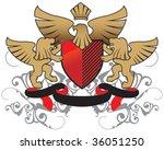 heraldry | Shutterstock .eps vector #36051250