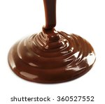 melted milky brown chocolate... | Shutterstock . vector #360527552