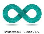 vector infinity symbol. | Shutterstock .eps vector #360559472