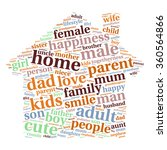 family info text graphics and... | Shutterstock .eps vector #360564866