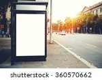 blank billboard with copy space ... | Shutterstock . vector #360570662
