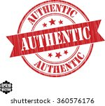 authentic grunge stamp.vector.   Shutterstock .eps vector #360576176
