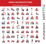 energy industry construction... | Shutterstock .eps vector #360577712