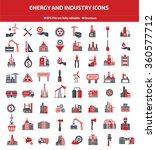 energy industry construction... | Shutterstock .eps vector #360577712
