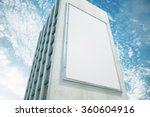 large billboard on a building... | Shutterstock . vector #360604916