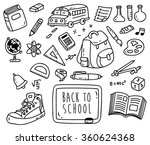 Back To School Themed Doodle...
