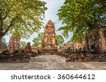 Old Beautiful Thai Temple Wat...