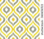 seamless geometric tribal faux... | Shutterstock .eps vector #360656522